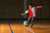 Kids soccer — Foto Stock