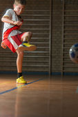 Kids soccer — Stockfoto