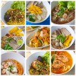 Thai Noodles - Foto Stock