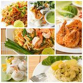 Thai Noodles — Stock Photo