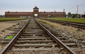 Photo detail in nazi concentration camp in Poland — Stock Photo