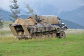 Historic german military vehicle — Stock Photo