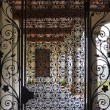Stock Photo: Gate of Cloister