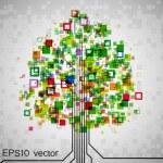 ������, ������: Pixel tree