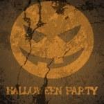 Halloween theme party poster — Stock Vector