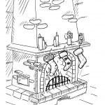 kominek — Wektor stockowy