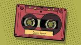 Cassette — Vecteur