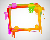 Colorful frame — Stock Vector