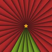 Vánoční strom — Stock vektor