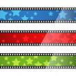 Royalty-Free Stock Vectorafbeeldingen: Film banners
