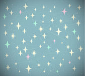 Retro starry background — Stock Vector