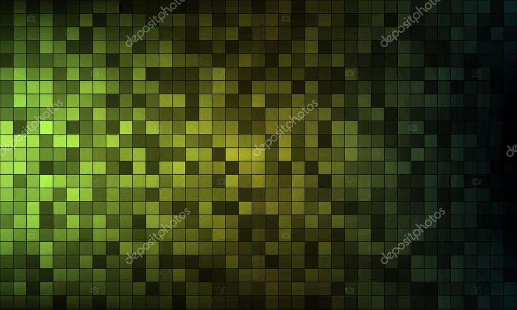 Abstract green pixels background. EPS10 vector.  Stock Vector #19476855