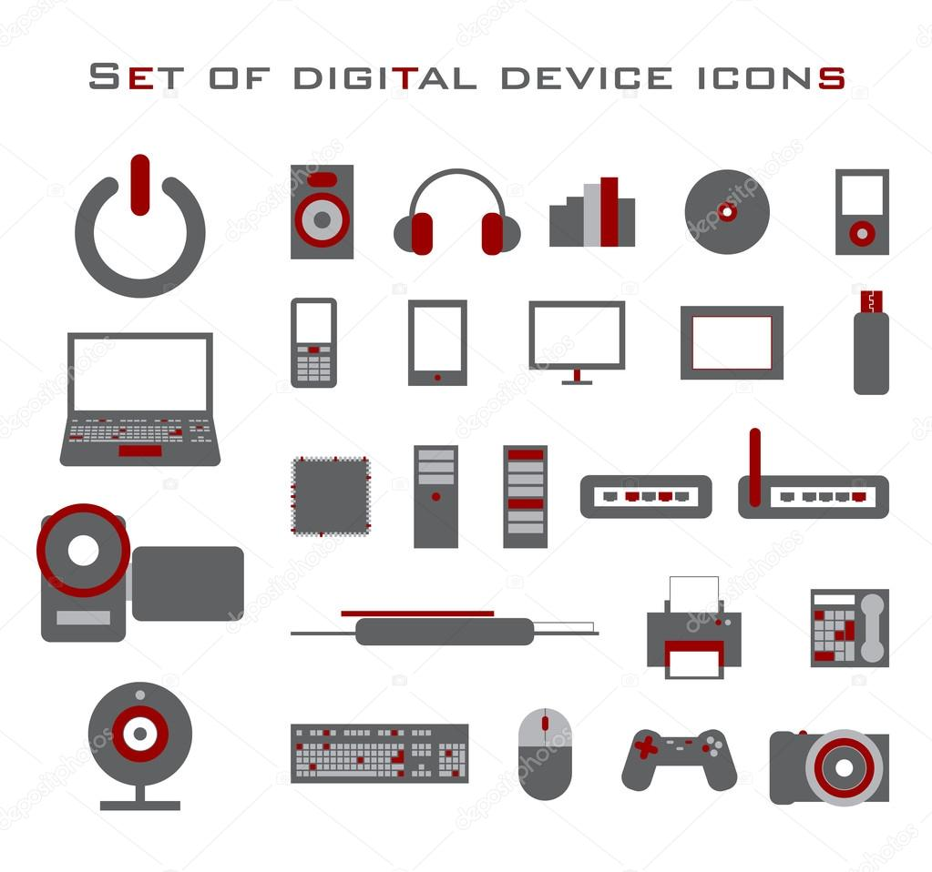 Electronic Icon Digital icons - stock: galleryhip.com/electronic-icon.html