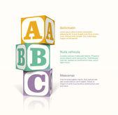 Cubes — Stock Vector