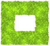 Leaves frame — Stock Vector