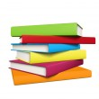 Stack of books — Stock Vector #36238541