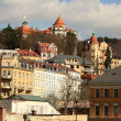 Karlovy Vary city - Stock Photo