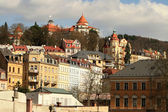 Karlovy Vary city — Stock Photo