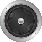 Speaker Icon Illustration — Stock Photo