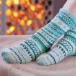 Woolen socks - Stock Photo