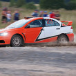 Stock Photo: Rally car