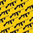 Tommy-gun seamless pattern — Stock Vector #37220123