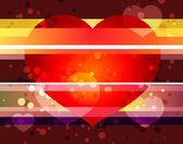 Sevgililer günü için tatil afişi — Stok Vektör
