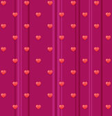 Pattern with valentines day — Vector de stock