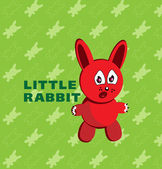 Little rabbit. — Stock Vector