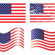 AmericFlag — Stock Vector #35895745