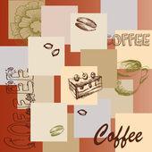 Coffee - Vector — Stock Vector