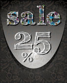 Försäljning formgivningsmall, vektor illustration — Stockvektor