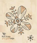 Decorative flower — Stockvector