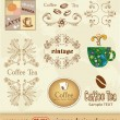 Coffee. vintage design element — Stock Vector