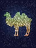 Camel. — Stock vektor