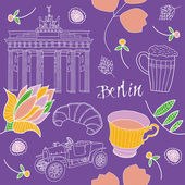Berlin — Stock Vector