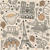 Paris-hintergrund — Stockvektor