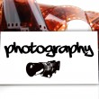 Photography - business card for photographer — Stock Photo #12175063