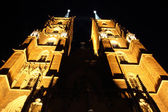 St. John`s cathedral at night, Wroclaw, Poland, Ostrow Tumski — Stock Photo