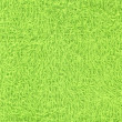 Green towel texture — Stock Photo