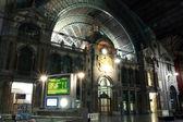 Old beautiful railway station in Antwerp, Belgium — Stock Photo