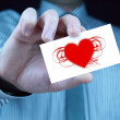 Stock Photo: Heart, love - Valentines Day Gift