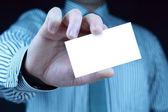 визитная карточка с копией пространства — Стоковое фото