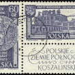 POLAND - CIRC1961: stamp printed in POLAND, shows Polish Northern Territories, circ1961. — Foto Stock #21283773