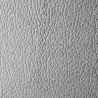 Gray leather texture or background — Stock Photo