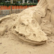 Sand sculpture — Foto Stock