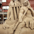 Stock Photo: Sand sculpture