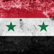 Grunge Syria flag — Stock Photo