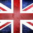 Stock Photo: Grunge United Kingdom Flag