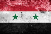 Grunge Syria flag — Stock Photo